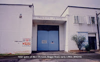 Main gates of No.1 Division, Boggo Road Gaol, Brisbane, early 1990s.
