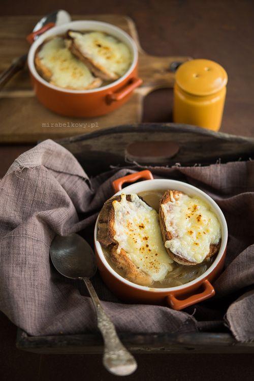 Mirabelkowy Blog Zupa Cebulowa Francuska