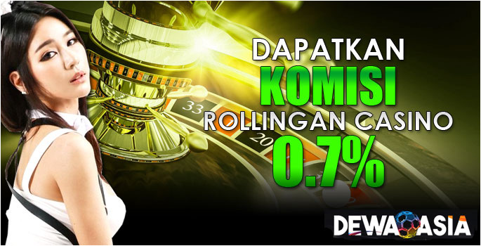 Komisi Rollingan 0.7%