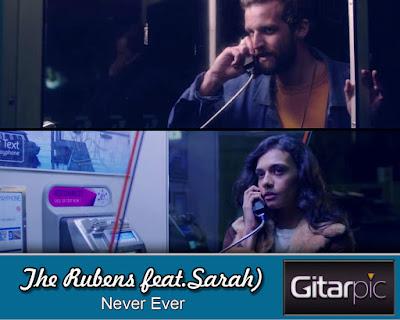 Original Chords The Rubens (feat. Sarah) - Never Ever