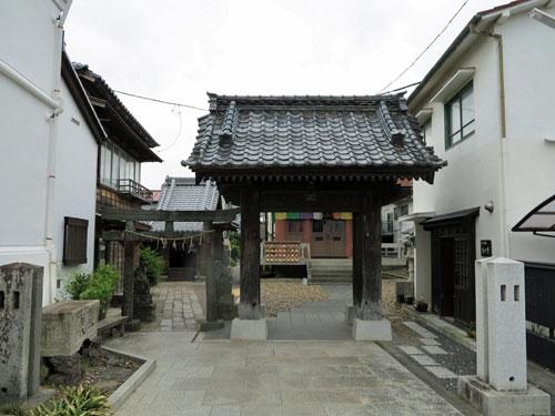 Tsuchiura Machikado Kura Daitoku Area, Ibaraki Prefecture.