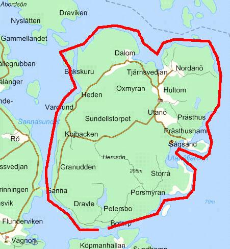 hemsö karta KRIGSHISTORIA: Försvaret av Ådalen hemsö karta