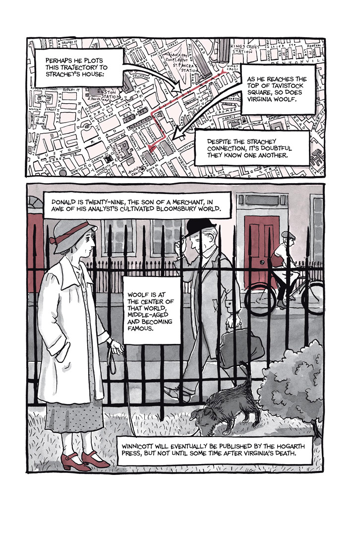Page 26, Chapter 1: Ordinary Devoted Mother from Alison Bechdel's graphic novel Are You My Mother