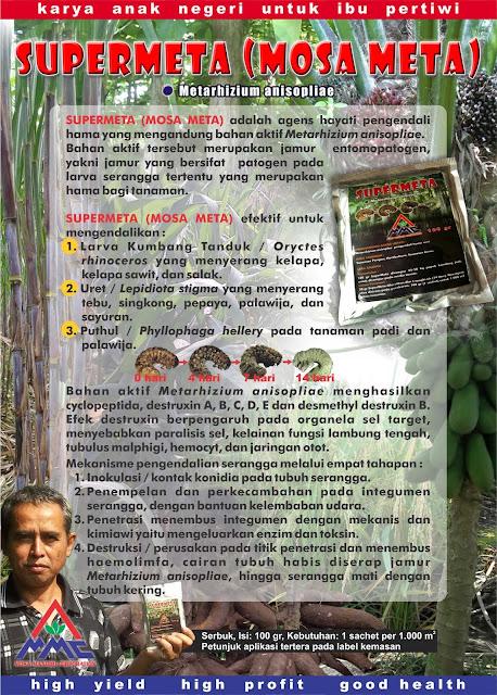 Brosur Mosa Meta - Pestisida Organik Perkebunan