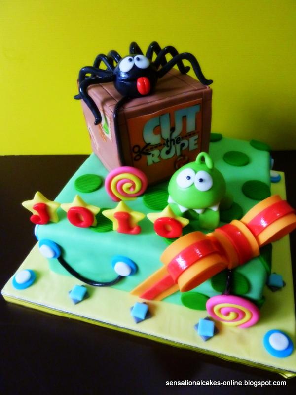 The Sensational Cakes Cut The Rope Cake Singapore Om