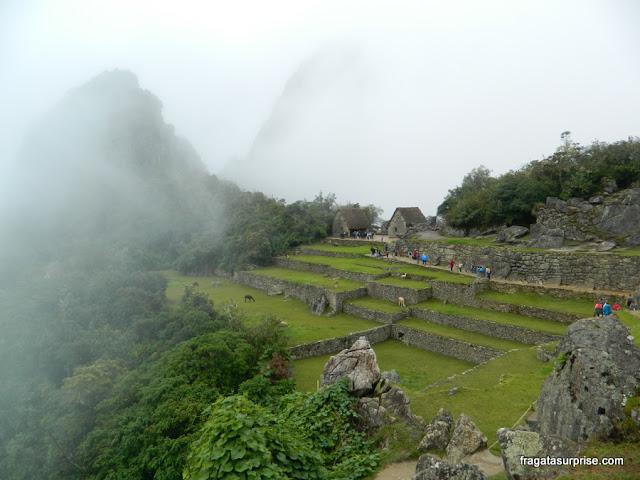 Amanhecer em Machu Picchu, Peru