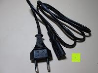 Stromkabel: kwmobile Universal Notebook Ladegerät Netzteil 90W und USB Anschluss, Adapter für Acer, Asus, Lenovo, Liteon, Samsung, Sony, Toshiba und weiteren