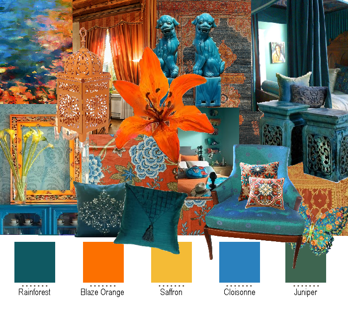 How i lost half of me but became whole may 2012 - Orange and teal decor ...