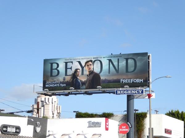 Beyond series premiere billboard