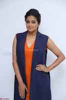 Priyamani in Beautiful Short Deep neck Orange Dress ~  Exclusive 41.JPG