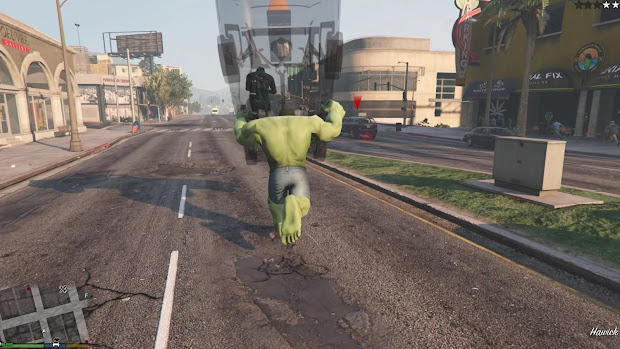 Grand Theft 4 Hulk Mod - Year of Clean Water