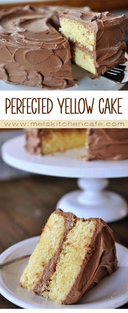 Perfected Yellow Cake