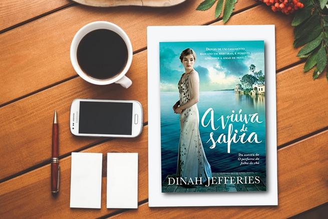 A Viúva de Safira   Dinah Jefferies