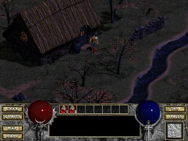 Diablo 1 Blizzard Captura de pantalla 3