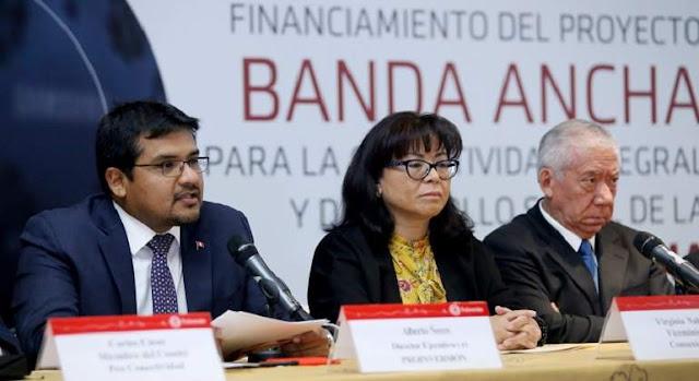 291 nuevas localidades de la Región Lima tendrán internet de alta velocidad