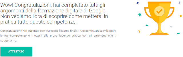 made in italy eccellenze in digitale google percorso formativo