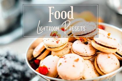 Preset Premium Lightroom Food Art by HappyNews