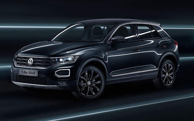 VW T-Roc Black e Cyber