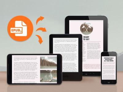 Libros electrónicos en tableta smartphone