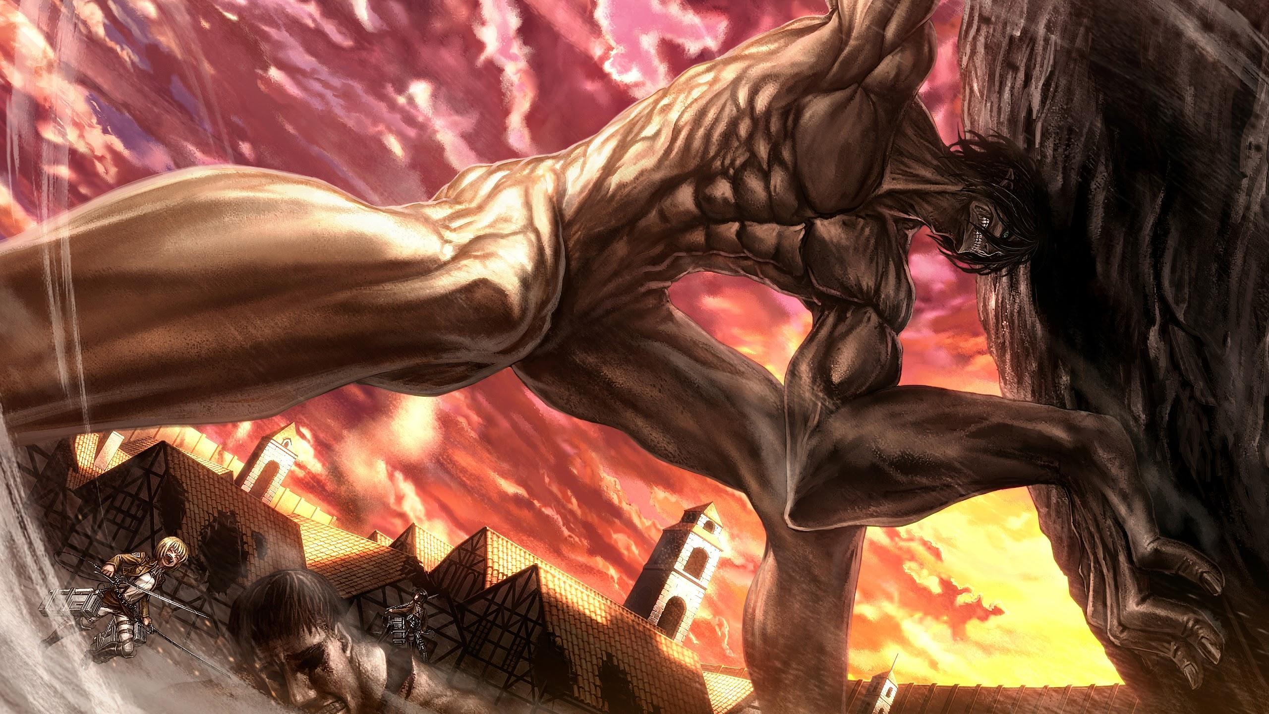 Attack Titan Attack On Titan 4k Wallpaper 171