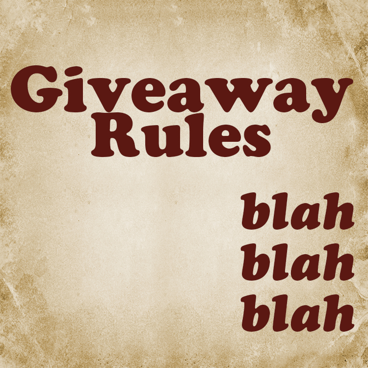 Rules Apply Giveaway