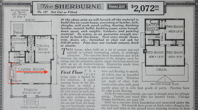 Sears Sherburne catalog floor plan