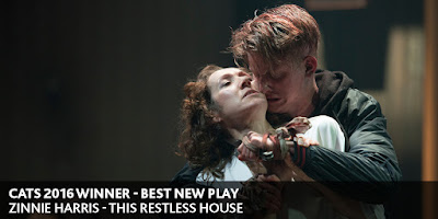 CATS Winner 2016: Best New Play - This Restless House - Zinnie Harris