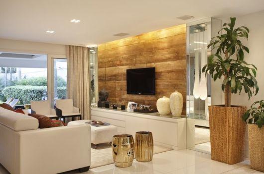 Construindo minha casa clean como decorar salas for Decorar casa 3d online