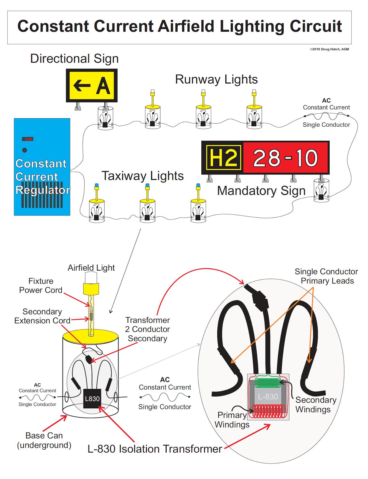 airport lighting wiring diagram
