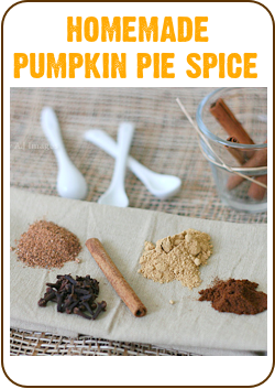 how to make pumpkin pie spice recipe?