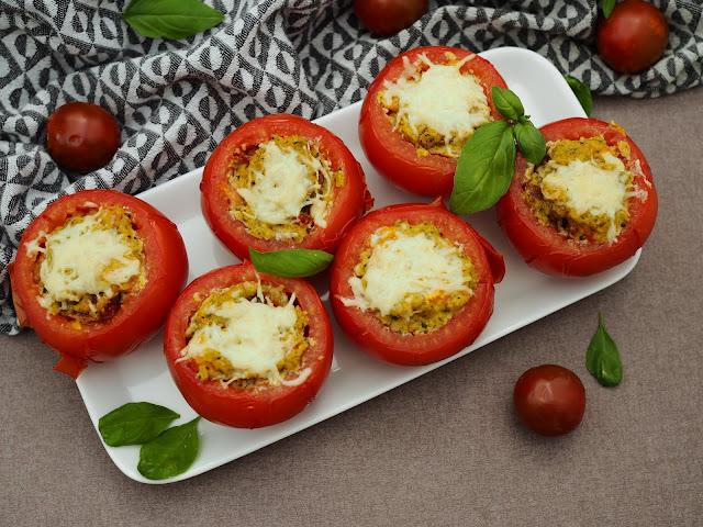 tomaatit uunissa