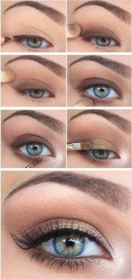 office gold makeup ideas