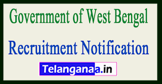 Government of West Bengal Recruitment Notification 2017