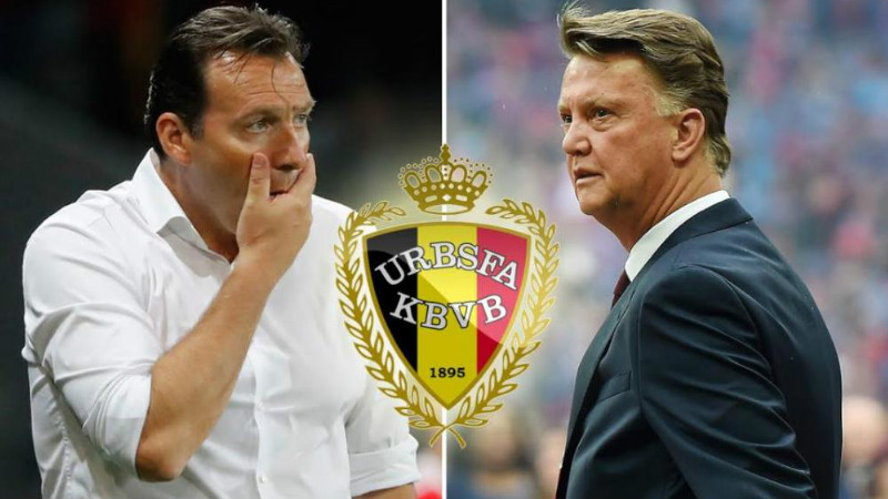 Marc Wilmots disebut akan digantikan Louis Van Gaal jadi pelatih Belgia