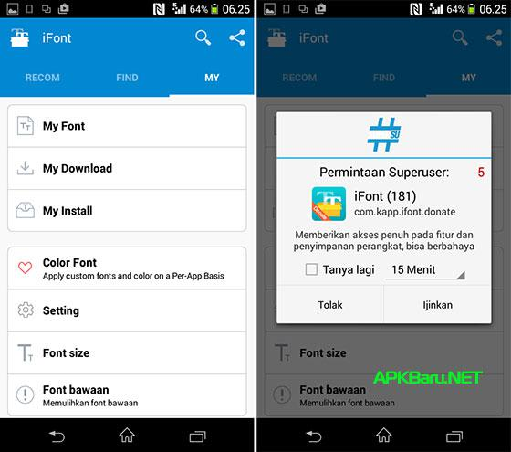 download ifont donate apk latest
