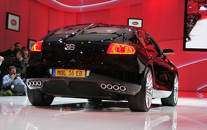 New Car Photo Bugatti Galibier Back