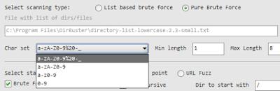 Cara Jebol Direktori Dan File Sensitif Pada Website Dengan DirBuster