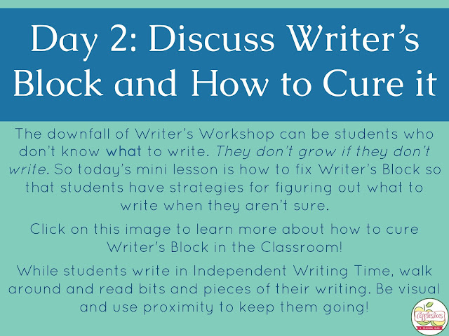 How to Cure Writer's Block