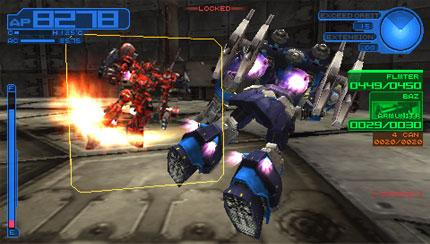 Armored Core 3 Portable screenshot 2