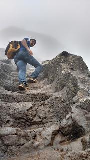 harihar fort trek blog in marathi