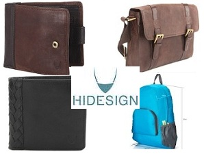 Great Deal: Hidesign Wallets and Bags Flat 40% – 50% Off @ Flipkart