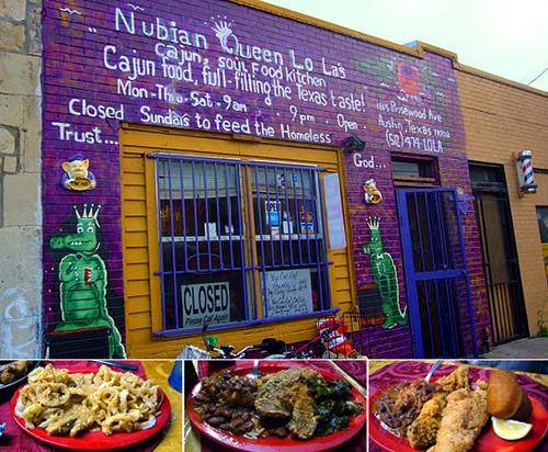 Austin Restaurants Food Blog Nubian Queen East Austin Cajun