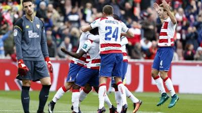 Crónica Granada CF 2 - Sevilla FC 1