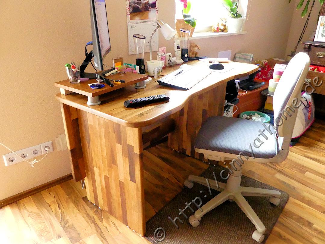 Cinny At Home Aus Einer Arbeitsplatte Wird Ein Schreibtisch