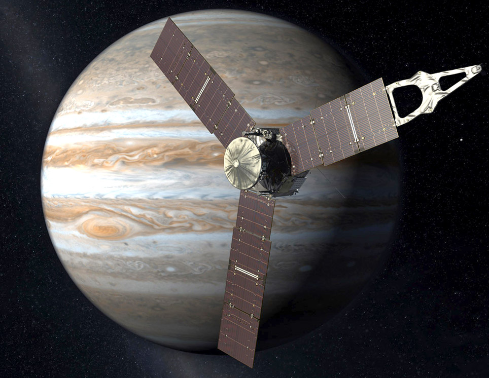 Juno Mission to Jupiter Model - Pics about space