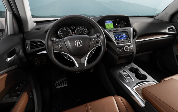 2017 MDX Engine Interior