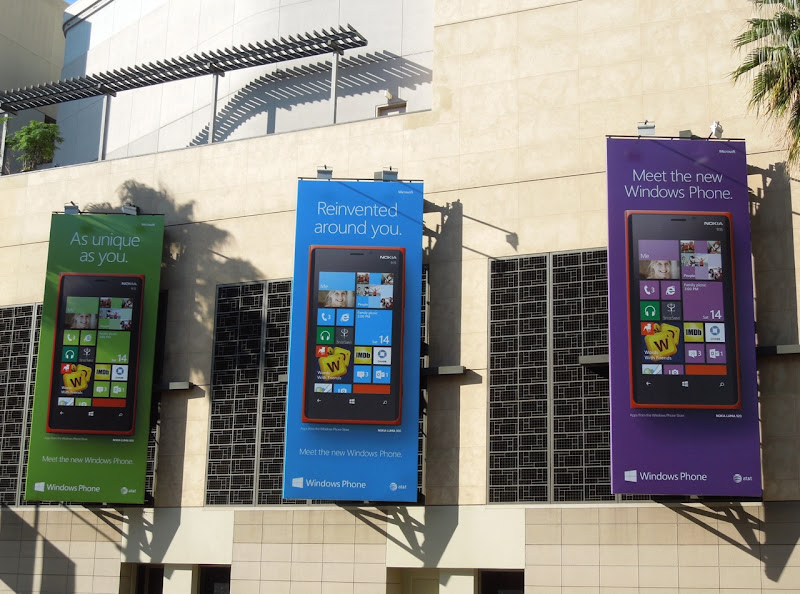Windows Phone billboards