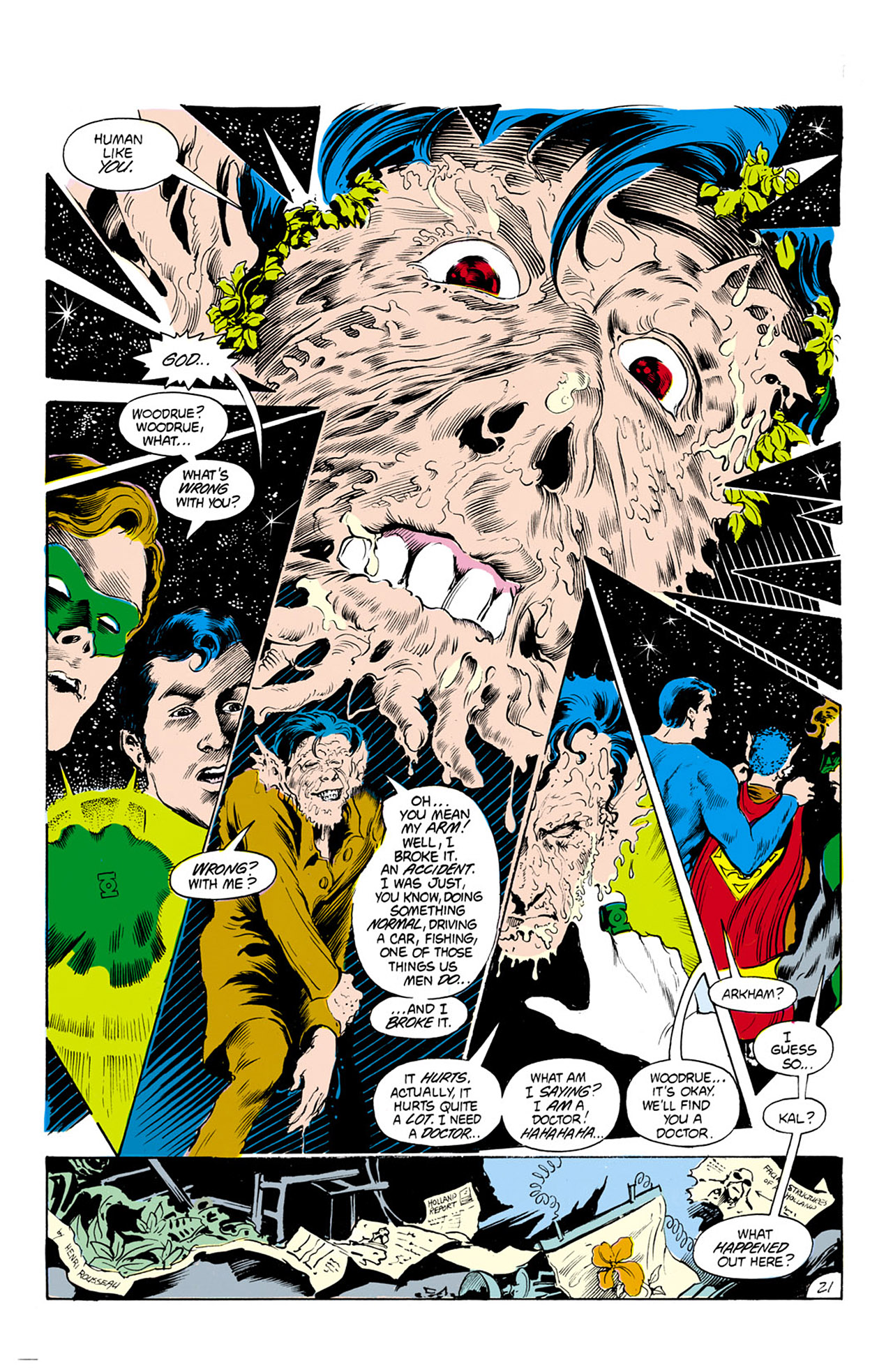 Swamp Thing (1982) Issue #24 #32 - English 22