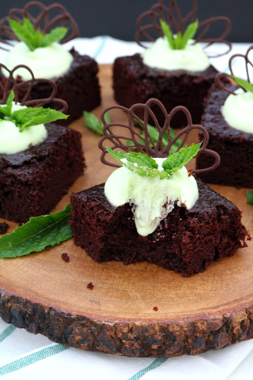 Bake Off Bake Along | Chocolate and Mint Mousse Traybake | Take Some Whisks