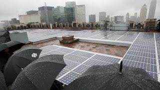 convert rain drops into electricity